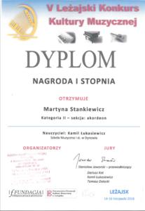 Osiągnięcia Akordeonistów na Konkursie w Leżajsku