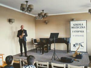 Warsztaty Saksofonowe prowadzone przez Jacka Szotta -fotorelacja 29.11.2019r