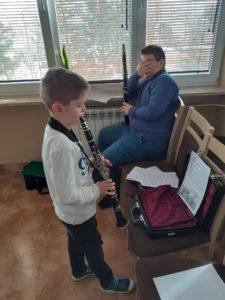 Fotorelacja z warsztatów klarnetowych z prof Romanem Widaszkiem